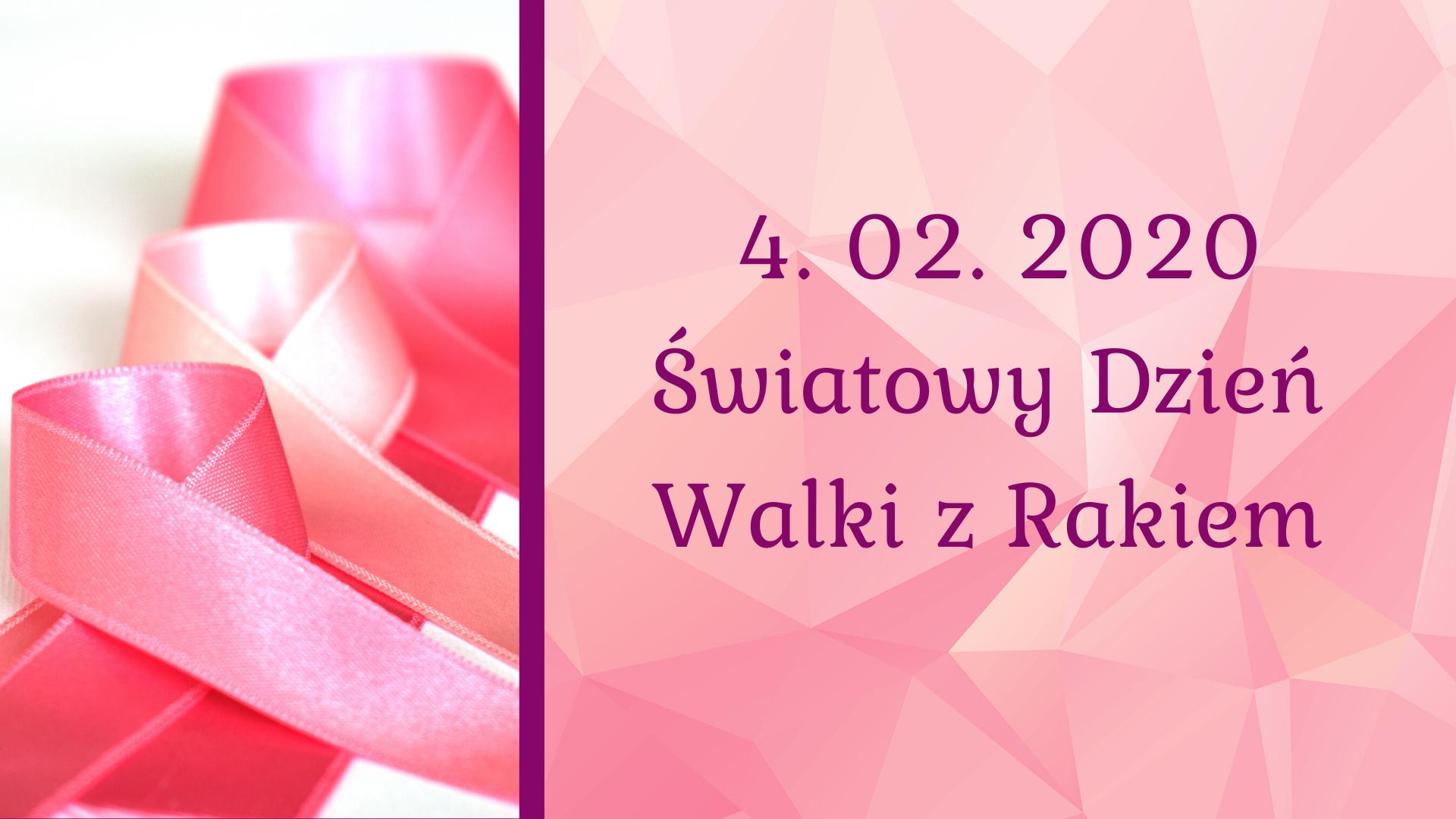 4 lutego Światowy Dzień Walki z Rakiem2