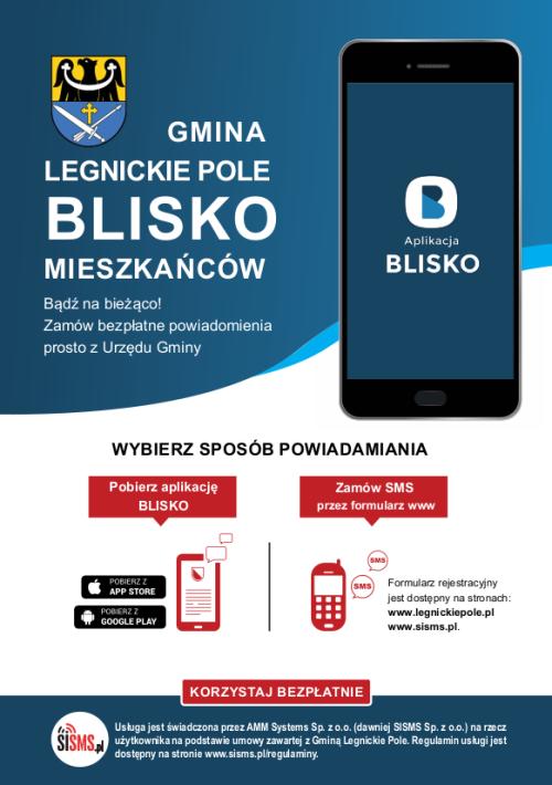 Legnickie Pole Ulotka BLISKO www 2