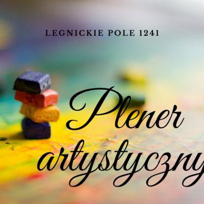 plakat na plener artystyczny