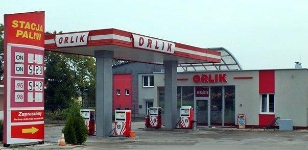 stacja paliw orlik w koskowicach